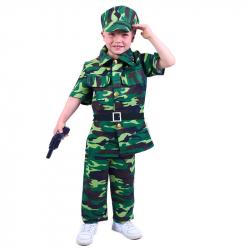 Detský kostým vojak (S)