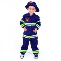 Detský kostým hasič (S)