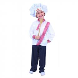 Detský kostým kuchár (S)