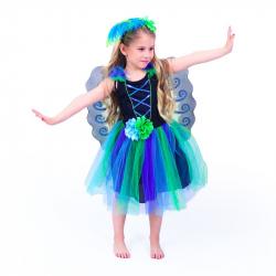 Detský kostým pávie víla (M)