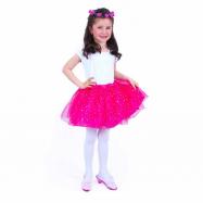 Dětský kostým tutu sukně s čelenkou