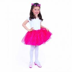 Detský kostým tutu sukne s čelenkou