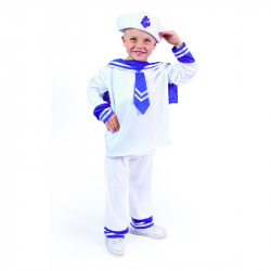 Detský kostým námorník (S)