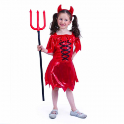 Detský kostým čertica (S)
