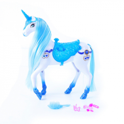 Kôň česacia so zvukom a svetlom