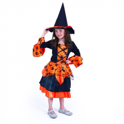 Detský kostým čarodejnice (M)