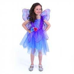 Detský kostým fialová víla (M)