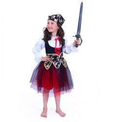 Detský kostým pirátky (M)