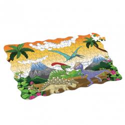 Puzzle dinosauři 208 ks, 90 x 64 cm