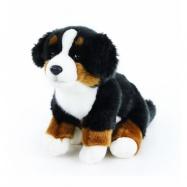 plyšový pes salašnický sedící, 23 cm