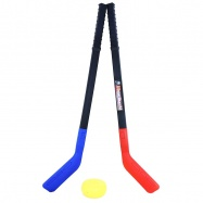 Hokejky plastové s pukom