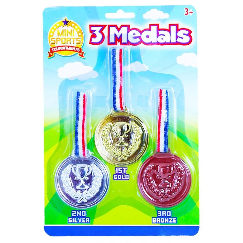 medaile 3 ks