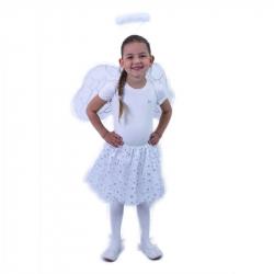 Detský kostým tutu sukne Anjel