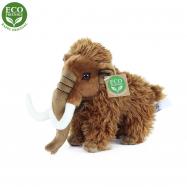 Plyšový mamut stojaci, 17 cm, ECO-FRIENDLY