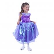 Kostium dziecięcy fioletowa księżniczka (S)