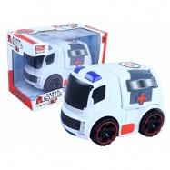 Auto ambulance se světlem a zvukem