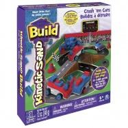 Kinetic Sand BUILD - Bourej se svými auty 254 g.