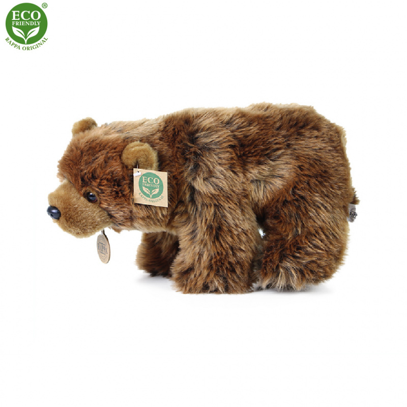 Plyšový grizzly 30 cm ECO-FRIENDLY