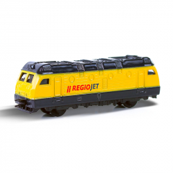 Kovová lokomotiva RegioJet 9 cm