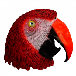 Maska papagáj