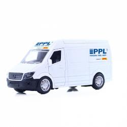 Kovové auto PPL s otváracími dverami 14 cm