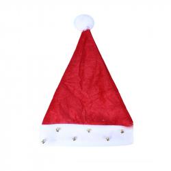 Vánoční čepice se zvonečky