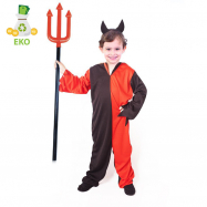 Kostium diabła dla dzieci z opaską (S)