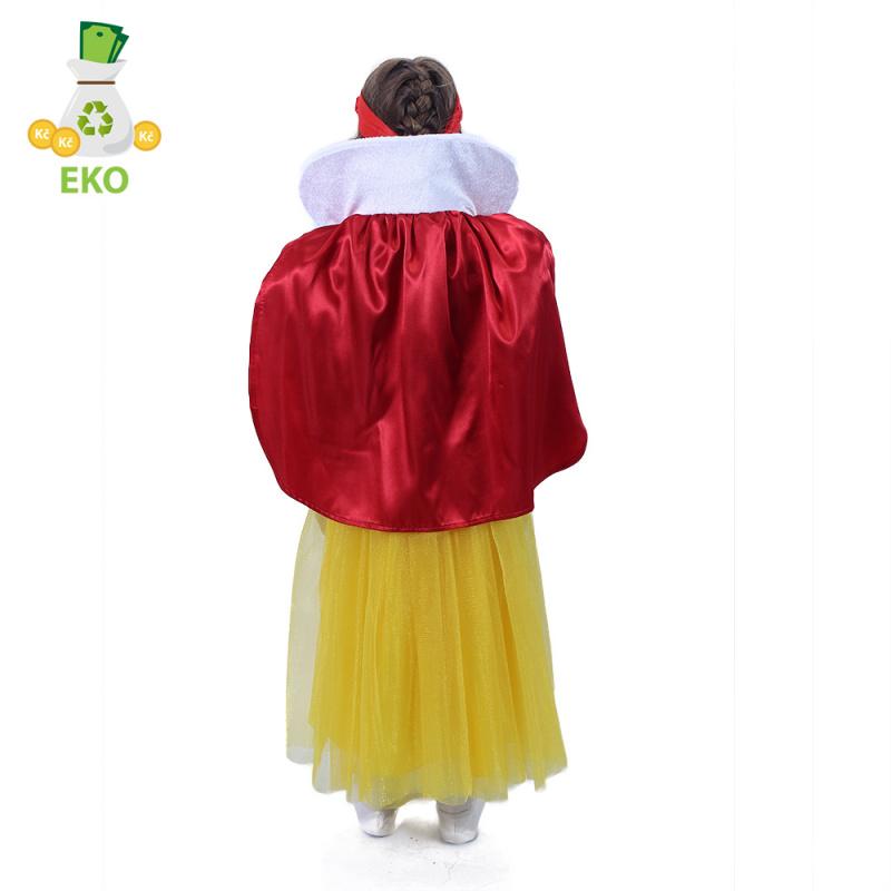 Dětský kostým Sněhurka (M) EKO