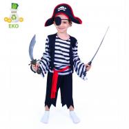 Detský kostým Pirát (M) EKO