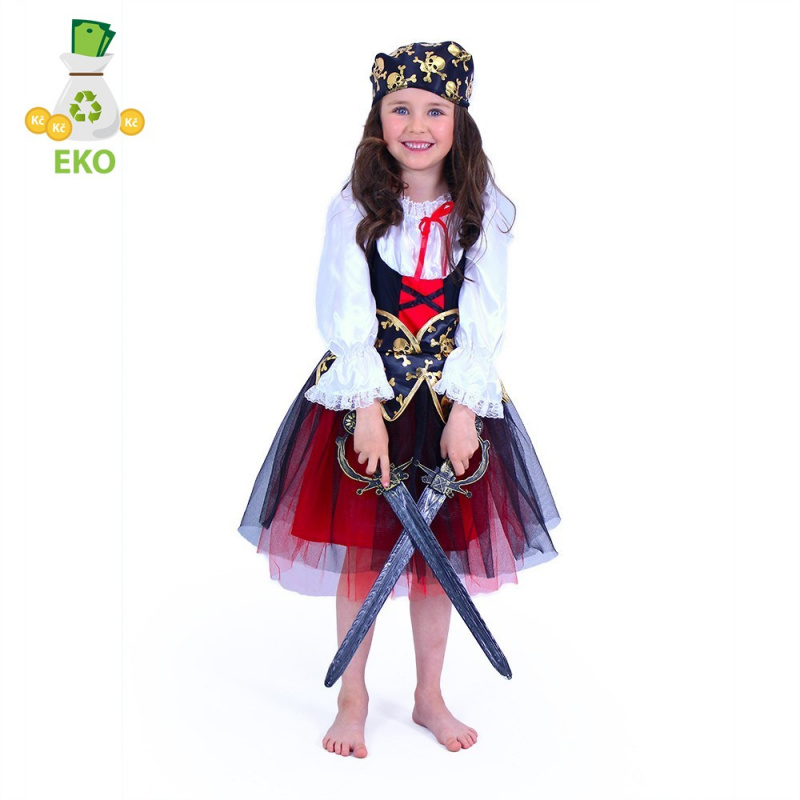 Kostium dziecięcy Pirat (S) EKO