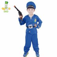 Kostium dziecięcy Policjant (S) EKO