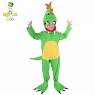 Detský kostým dinosaurus (S) EKO