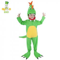 Kostium dziecięcy dinozaur (S) EKO
