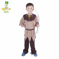 Detský kostým indián s pásikom (S) EKO