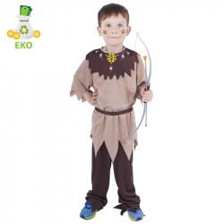 Detský kostým indián s pásikom (M) EKO