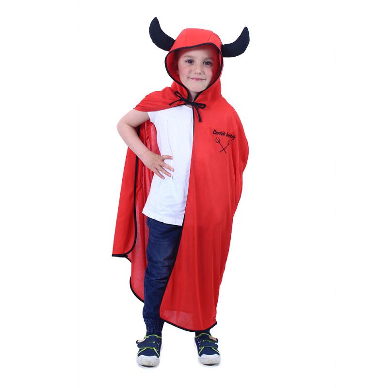 Płaszcz dziecięcy diabła Bertíka