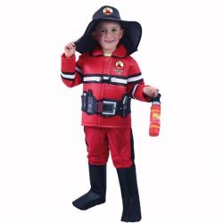 Detský kostým hasič (L)