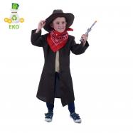 Detský kostým kovboj (M) EKO