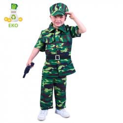Detský kostým vojak (M) EKO