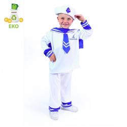 Detský kostým námorník (S) EKO