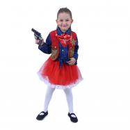 Kostium dziecięcy Cowgirl (L)