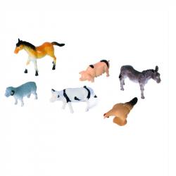 Zvířata domácí 6 ks na blistru