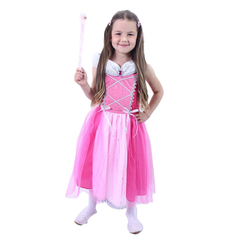 Kostium dziecięcy Księżniczka różowy (S)