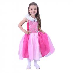 Kostium dziecięcy Księżniczka Różowy (M)