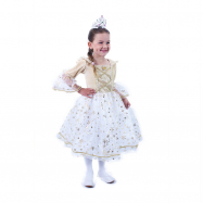 Detský kostým Princezná zlatá (S)
