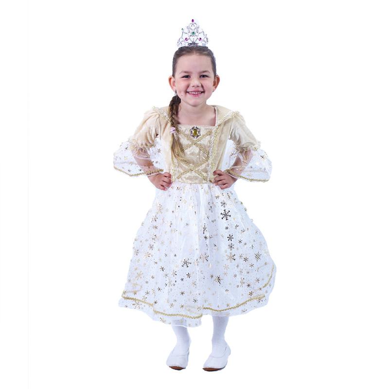 Kostium dziecięcy Princess Gold (L)