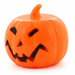 dekorácie tekvica halloween, zvuk a svetlo