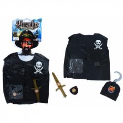 Sada vesta pirátska s přislušentsvím detská