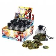 Mince pirátské v síťce
