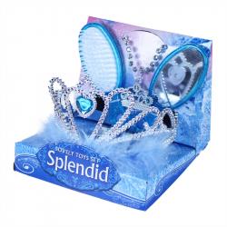 Korunka princezná s príslušenstvom modrá